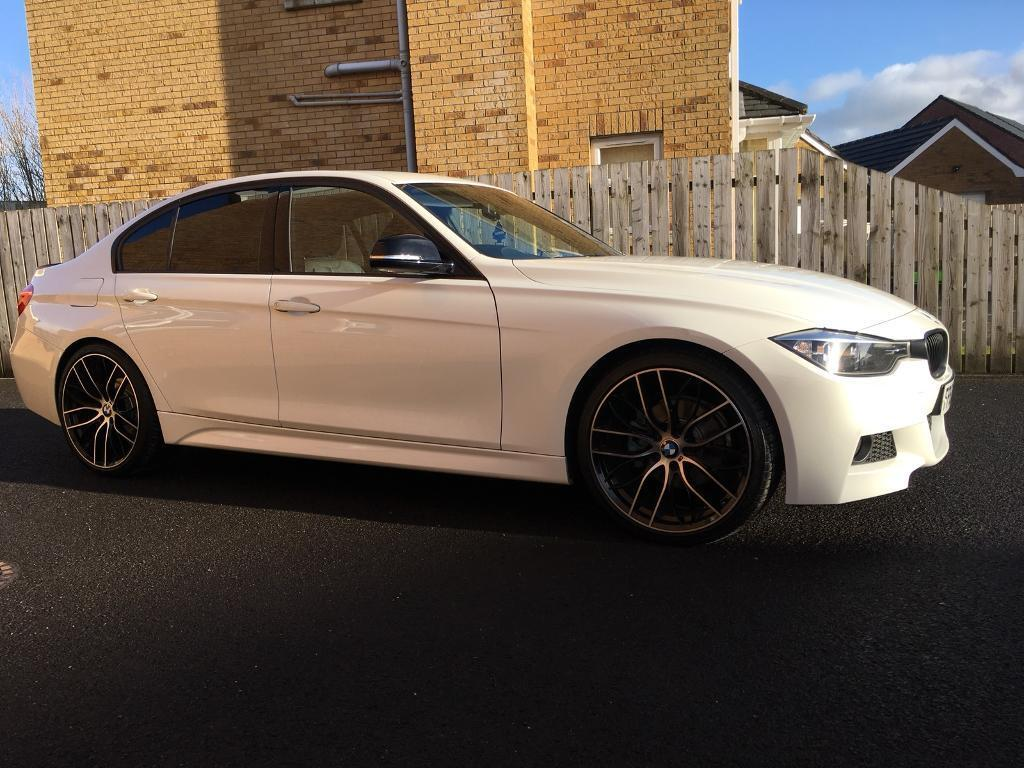 2012 bmw 320d m sport f30 auto alpine white in limavady. Black Bedroom Furniture Sets. Home Design Ideas