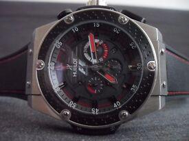 New Hublot F1 Geneve Mens Watch, pristine condition,