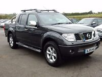 2009 nissan navara 2.5 dci tekna top spec low miles excellent example motd sept 2017