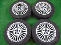 "FORD FOCUS, GALAXY, MONDEO,TRANSIT CONNECT, C-MAX, S-MAX 16"" inch ALLOY WHEELS"