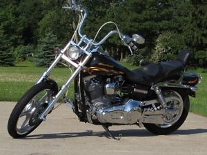 2002 harley-davidson FXDWG Dyna Wide Glide  Spectacular CVO  Loo London Ontario image 2