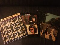 Genuine original issue Beatles albums - perfect Mother's Day gift