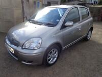 2005 Toyota Yaris 1.3 Petrol Silver 5 Door FSH Low Miles Long MOT & 3 Months Warranty