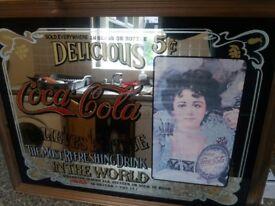 Vintage coca cola Mirror