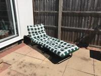Sun Lounger less than 3 months old - patio garden