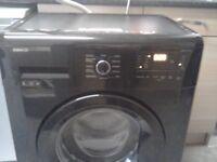 Beko black 6kg washing machine