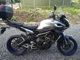 Yamaha Tracer, clean bike, low mileage, 1 owner since demonstrator, FSH, heated grips, bobbins