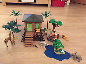 Playmobil Safari with add-ons
