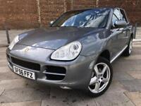 2006 PORSCHE CAYENNE S / ALLOYS / LEATHER / CD / SAT NAV / JAN MOT .