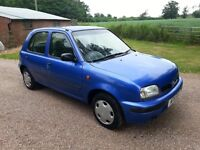 NISSAN MICRA 998cc ONLY 62000 MILES, 6 MONTHS MOT, UNBELIEVABLE CONDITION FOR AGE, NICE SOLID CAR