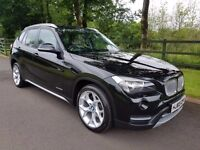 ** Dec 2013 Bmw X1 X-Drive 2.0d X-line ( leather, parking sensors, manual ) **