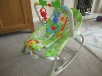 Fisher Price baby rocker chair