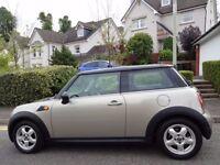 (07) MINI COOPER AUTOMATIC NEW MODEL 1 LADY OWNER, GENUINE 50K MILES, FULL HISTORY, SCARCE AUTO MINI