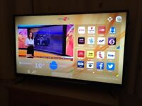 Hitachi 49 inch 4k ultra hd smart led tv. 5 MONTHS OLD. WARRANTY AND RECEIPT