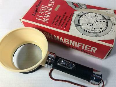 Cheap Magnifying Glass (Vintage Lighted Magnifying Glass Flash Magnifier in Box JAPAN rare Light)