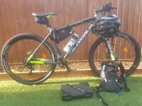 Rockrider 900 Mountain Bike NEW with All Accessories needed to get started