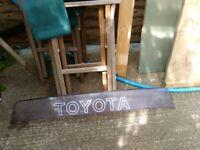 Toyota MR2 mk1 rear roof spoiler