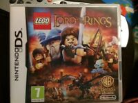 Lego lords of the ring Ds game
