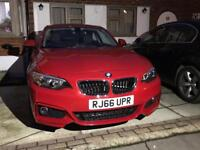 BMW 2 series 218i 2016 for sale or px Audi Mercedes Honda Nissan Ford vw golf vauxhall