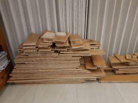 Reclaimed Engineered Wood Oak Flooring