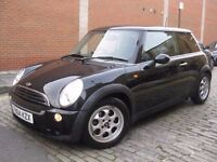 MINI COOPER 1.6 BLACK 2004 **** £1350 ONLY **** 3 DOOR HATCHBACK **** P EX WELCOME