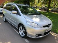 2007 Mazda5 2.0 Sport 5dr Service History, Reverse parking camera, 7 seater @07541423568@