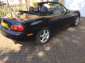 Mazda MX5 convertible with MOT till March 2019