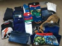 Boys Clothes Bundle Age 6-7/7 (lots brand new)