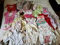 Baby girl clothes 0-9
