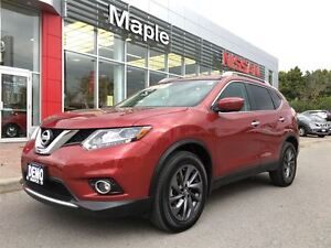 2016 Nissan Rogue |DEMO SALE|SL|Leather|NAVI|PanRoof|BOSE|4Cams|