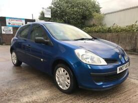 RENAULT CLIO 2007 1.4 16V EXPRESSION 5dr, NEW MOT, NEW LUK CLUTCH, NEW SERVICE