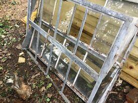 Industrial/ metal reclaimed Windows