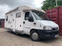Fiat Ducato Elnagh Motorhome Campervan Caravan Low Miles Fixed Bed Lpg Tank Walk In Shower !