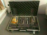 Core Diamond Drill Bits Set in Flight Case Heavy Duty Core Drill Bits