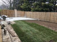 Landscape/garden maintenance/fencing/decking/slabbing/turfing/garden renovations/