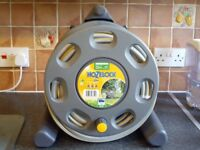 HOSELOCK HOSE AND REEL BRAND NEW 25 MTRS IN LENGTH .