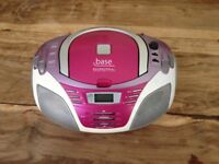 Girls style portable radio/CD player