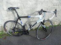 Jan Jennsen Road Bike -Full carbon fibre in excellent cond