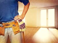 Handyman, Painter + Decorator, any general jobs around the house?