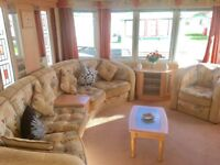 STATIC CARAVAN FOR SALE ON 12 MONTH HOLIDAY PARK NEAR LAKE DISTRICT