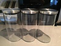 John Lewis storage jars