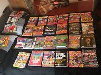 Match Annuals + Magazines