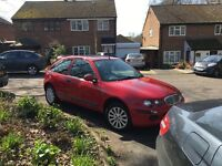 Rover 25 1.4. 2003 long Mot family owned since 2004 - Low Miles New Head Gasket and Cam Belt