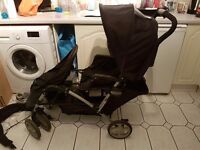 The Graco Stadium Duo Tandem Pushchair