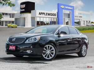 2015 Buick Verano Leather LEATHER, NAVIGATION, SUNROOF, REAR...
