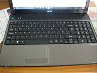 "Acer aspire 5551.15.6"" laptop great condition and fast windows10 and office 2007"