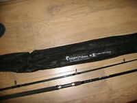 dam 11ft pike /carp rod fighterspike brand new in cloth bag very strong rod