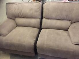 Harvey's sofa. 3 piece and 2 piece recliner SOLD SOLD SOLD