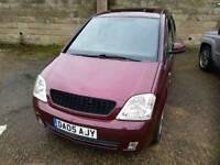 2005 Vauxhall Meriva 1.4 desire