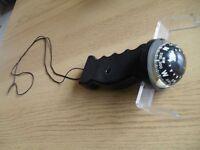 Handheld sailing compass